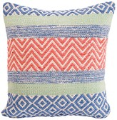 Karma Living Eccentric Pillow - Orange/Lime - 18 x 18