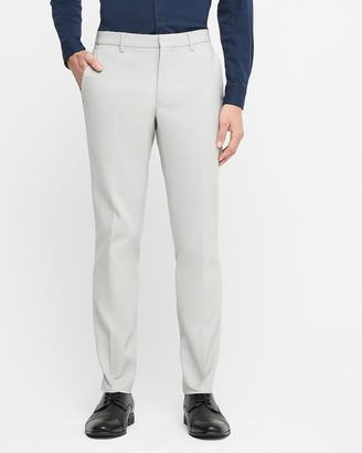 Express Extra Slim Double Weave Tech Performance Dress Pant