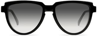 Urican 58BK Black Sunglasses