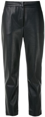 Egrey Pockets Straight Trousers