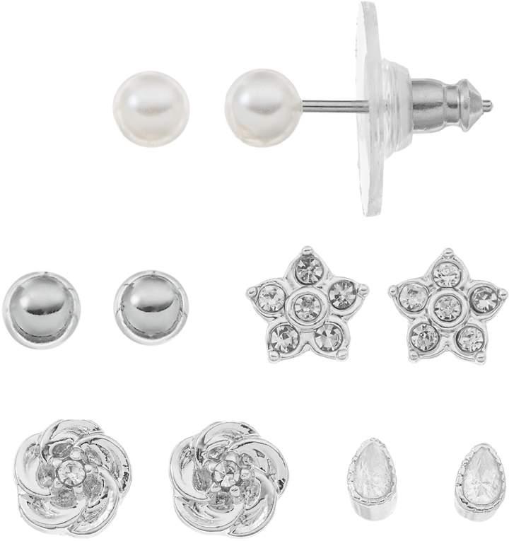 010a350b4 Lauren Conrad Silver Earrings on Sale - ShopStyle