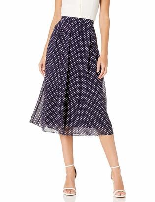Anne Klein Women's Long Pleated Skirt