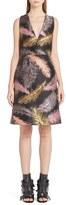 Emilio Pucci Women's Feather Jacquard Dress