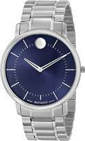 Movado Men's 0606688 TC Stainless Steel Case and Bracelet Dial Minute Tracker Watch