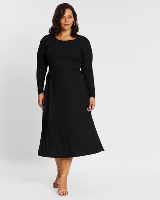 Atmos & Here Nicole Belted Dress