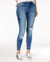 Rampage Juniors' Sophie Star Skinny Ankle Jeans