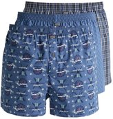 Jockey 3 Pack Boxer Shorts Night Blue