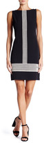 Maggy London Embroidered Shift Dress