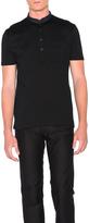 Lanvin Cut Shirt Collar Polo