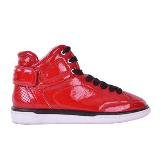 Dolce & Gabbana Red Patent leather Trainers