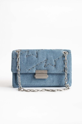Zadig & Voltaire Ziggy Denim Bag