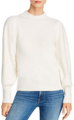 French Connection Flossy Puff-Sleeve Sweater