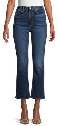 Rag & Bone Nina High-Rise Kick Flare Jeans
