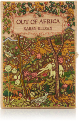 Olympia Le-Tan M'O Exclusive Out Of Africa Book Clutch