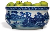 The Well Appointed House Blue and White Porcelain Bowl