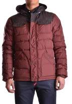 Duvetica Men's Burgundy Polyamide Down Jacket.