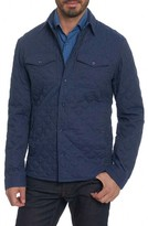 Robert Graham Men's Lance Quilted Shirt Jacket