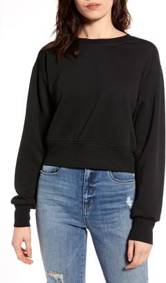 Socialite Crop Sweatshirt
