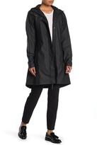 Rains Firn Hooded Long Rain Coat