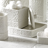 Kassatex Bedminster Damask Bathroom Accessory Tray