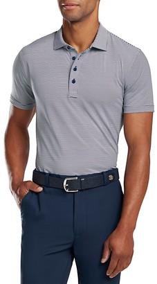 G/Fore Feeder Stripe Polo Shirt