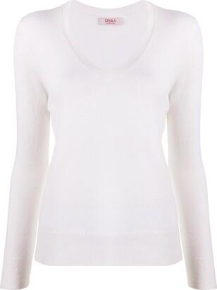 Liska V-neck jumper
