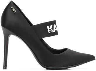 Karl Lagerfeld Paris Manoir Hi Court pumps