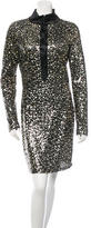 Naeem Khan Embellished Silk Dress w/ Tags