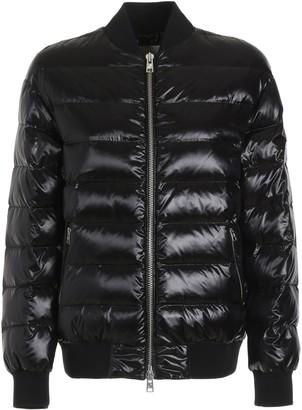 Woolrich Black Polyamide Alquippa Bomber Jacket - black | Polyamide | m - Black/Black