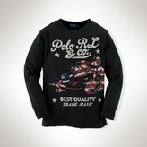 Long-Sleeved Graphic Shirt