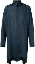 Yohji Yamamoto long shirt jacket - men - Linen/Flax - 2