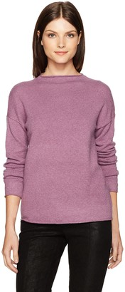 Kensie Women's Acrylic Knit Mockneck Sweater