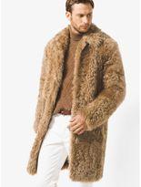 Michael Kors Shearling Teddy Bear Reefer