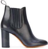 Santoni heeled chelsea boots - women - Leather/rubber - 36