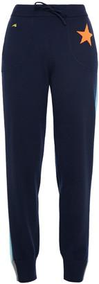 Bella Freud Striped Intarsia Cashmere-blend Track Pants