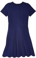 Aqua Girls' Scalloped Flare Dress, Big Kid - 100% Exclusive