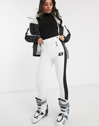 ASOS 4505 ski soft shell colour block slim fit biker pant