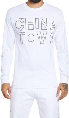 Chinatown Market UV Graphic Long Sleeve T-Shirt