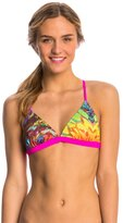 Speedo Rainbow Wings Printed Tie Back Triangle Top 8136656