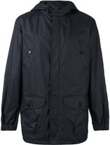 A.P.C. hooded jacket - men - Cotton/Polyurethane/Modal - S