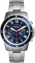 Fossil Men's Chronograph Grant Sport Stainless Steel Bracelet Watch 44mm FS5238