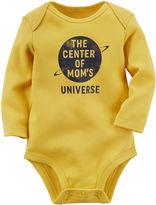 Carter's Long-Sleeve Yellow Mom Slogan Bodysuit - Baby Boys newborn-24m