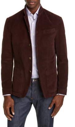 Eleventy Trim Fit Corduroy Cotton Sport Coat