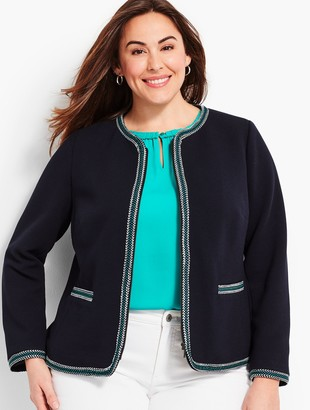 Talbots Braided-Trim Jacket