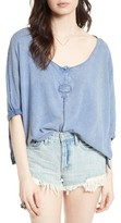 Free People Women's First Base Henley Top