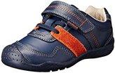 pediped Flex Channing Sneaker,Navy,31 EU(13-13.5 US Little Kid)