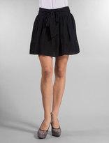 Whitney Eve Brentwood Black Chiffon Skirt