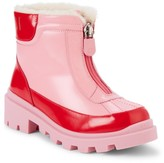 Gucci Little Kid's & Kid's Faux-Fur Lined Patent Leather Boots