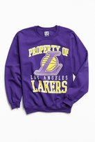 Urban Outfitters Los Angeles Lakers Crew Neck Sweatshirt