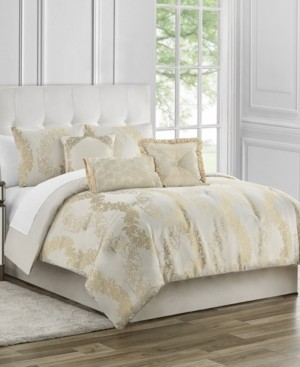 Waterford Marquis by Oban 7 Piece King Comforter Set Bedding